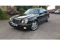 2000 Mercedes E Class E430 4.3 V8 Avantgarde W210 not E55 E63 AMG E320 E350 BMW 540i 535 M5 E39 E34 for sale  Batley, West Yorkshire