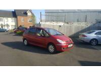 Citroen picasso 1.6hdi diesel with long mot and low miles