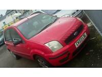 03 PLATE FORD FUSION. 1.4 DIESEL. DRIVES WELL