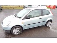 2003 Ford Fiesta 1.3 Petrol Only done 48000 Miles So Far..