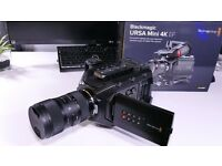 Blackmagic Ursa Mini 4K EF . Brand new .