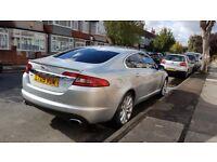 Jaguar XF S-luxury silver 3.0 diesel saloon 2009