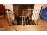 Babydan fire guard - toddler - baby - gate - safety