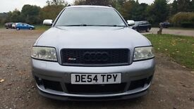 AUDI RS6 4.2 AVANT 2OO5 520BHP POSSIBLE PART EXCHANGE FOR BMW/MERCEDES/MITSUBISHI/EVO/7/8/9/OR/LHD.