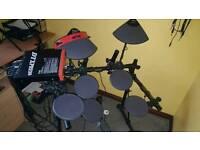 Electronic full size drum kit.