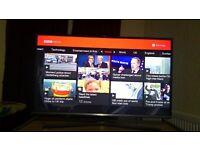 "Samsung LED 32"" Smart TV Model UE32J5600 with inbuilt Wifi and Smart Applications"