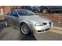 2004 Alfa Romeo 156 1.9 JTD Veloce 4dr, FSH, 1 Owner From New, Warranty & Breakdown Available, £995