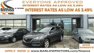 2015 Mazda CX-9 GS*EVERYONE APPROVED* APPLY NOW DRIVE NOW.