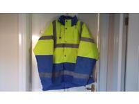 Portwest high viz jackets
