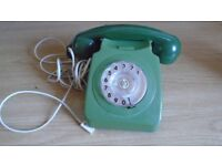 Vintage BT Rotary Dial Telephone 1970's/80's Model