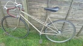 Classic Raleigh road bike