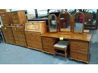 Loads of pine furniture items