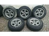 Jeep Wrangler TJ Alloy wheels
