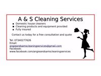 Domestic & End of Tenancy cleaning services