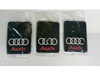 AUDI A1,A2,A3,A4,A5,A6,A7,A8,TT,Q3,Q5,Q7 ** Car Air Freshener **Deal 3 for £4.99