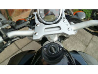 Yamaha MT-01 'RIZOMA' Handle Bar - Riser - Grips - End Weights. GENUINE RIZOMA PARTS Set.