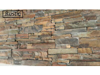 Real Stone Cladding Z Panels 8 colours