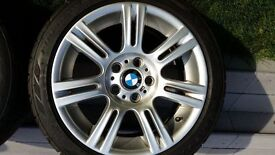 BMW E90 3 series 17 inch m sport alloys with tyres