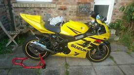 SUZUKI GSXR 2004 600CC SPORTS BIKE