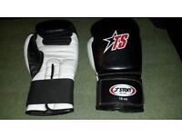 18-oz boxing gloves