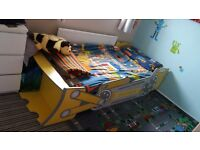Child's single digger bed