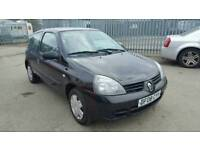 2008 Renault Clio 1.2 3 door black