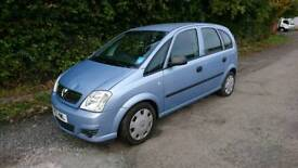 Vauxhall Meriva life 1.4 petrol 9months mot (REDUCED PRICE FOR QUICK SALE)