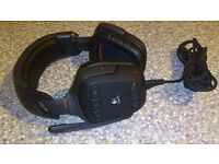 Logitech G35 7.1 surround headset as new