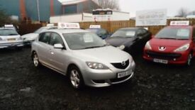 2005 55 MAZDA 3 1.5 5 DOOR FULL MOT LOW MILEAGE TOP SPEC LOW RUNNING COSTS £595