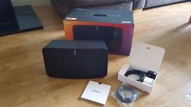 Great condition Sonos Play 5 in black with receipt and warranty