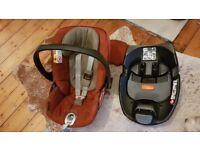 Cloud Q car seat and Isofix base