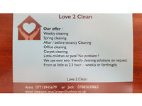 residential Cleaner Love 2 Clean