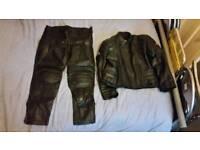 Men's motor bike leathers
