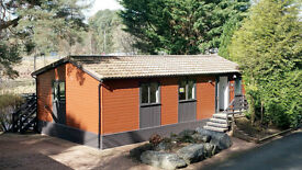 Holiday Lodge, Prime riverside location.