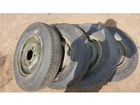 3 sets Land rover wheels