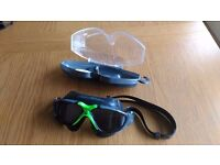 Aqua Sphere Vista Swimming Mask - Tinted Lens