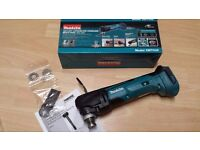 MAKITA XMT03Z Multi-Tool LXT 18v Cordless Quick release New in Box(tool+blade+extractor)2017