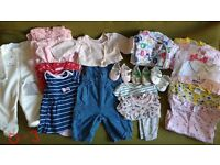 Baby girl bundles from newborn to 6 months