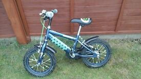 Raleigh Fc Champion Striker child's bike in good condition.