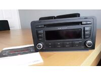 Audi A3 SLine Concert Stereo