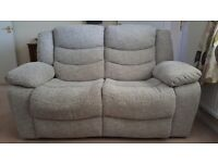 Electric Reclining Two Seater Sofa and Armchair