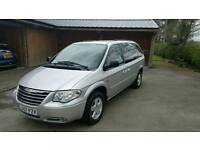 2007 (57) Chrysler Grand Voyager Executive XS CRD SAT NAV DVD Stow'n'go 79k miles