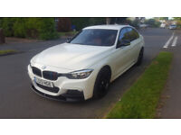 2013 13 BMW 320D M Sport - M Performance - Red Leather Interior - Automatic