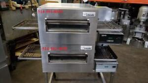 "LINCOLN Impinger 18"" au GAS conveyor Pizza Oven, Four a Pizza rotatif Convoyeur"