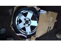 Ford fiesta mk5 alloy and spare tire 195/50r15 6jx15h2 cheep