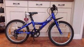 Aluminium frame childs bike