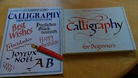 Calligraphy books
