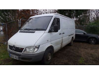 MERCEDES-BENZ SPRINTER 2.2 311 CDI MWB 1d 109 BHP 2 previous owner