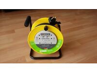 4-Socket Cable Extension Reel - 10M
