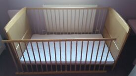 Used baby cot for sale